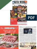 "Kuta Weekly - Edition 598 ""Bali's Premier Weekly Newspaper"""