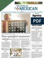Santa Fe New Mexican, page 1 Friday, July 4, 2008
