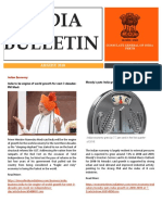 India Bulletin- August 2018