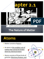 Chapter 2.1 Nature of Matter