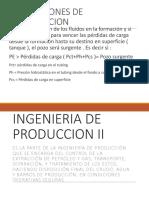 Producción 2 - Condiciones de producción