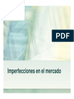 Clase Microeconomía - 4 - Imperfecciones en El Mercado