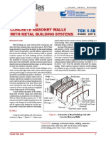 Metal Buildings and CMU Walls