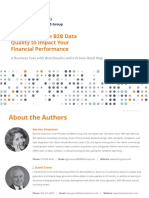 [eBook] Best Ways For Improving B2B Data Quality & Financial Results