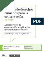 SIIED - DDHH Para La Conservación