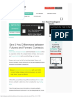 See 5 Key Differences Between Futures and Forward Contracts