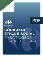 Codigo Etica Fornecedores