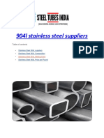 904l stainless steel suppliers