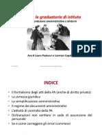 Gestire Le Graduatorie Di Istituto e Documentazione Amministrativa e Dintorni