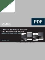 DLink DSR CLI Reference Guide v1.04
