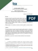FELTRIN [2018] Jornalismo Público No Brasil