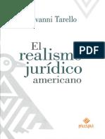 TARELLO El Realismo Jurídico