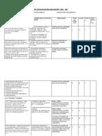 3º Tabla de Especificaciones de Evaluaciones Finales