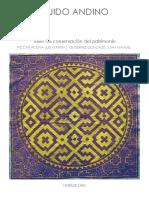 Tejido andino - maqueta abstracta