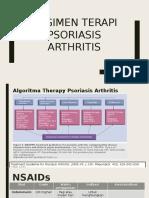 Regimen Therapy psoriasis Arthritis.pptx