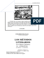 D¡az-Plaja, Guillermo - Los  métodos literarios.doc