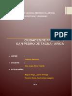 Ciudades de Frontera_ Perú - Chile