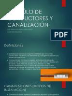 Calcúlo de Conductores y Canalización