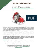 Motobomba Mark 3 y Accesorios