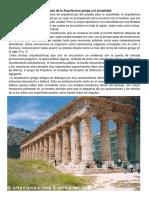 Aportaciones de La Arquitectura Griega a La Actualidad