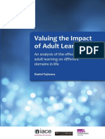Impact of Adult Learning