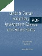 Axel Dourojeanni Gestion Cuencas y Girh
