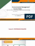 EMSE IEM Course Notes 10