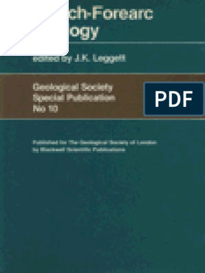 1982 Leggett - Trench-Forearc Geology_Sedimentatation and
