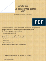 EDUP3073 budaya m17 tutorial.pptx