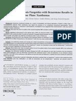 Stamatis Gregoriou et al. 2012. Treatment of mycosis fungoides with bexarotene