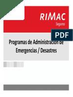 Planes de Emergencias