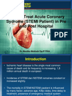 Dr Mustika Mahbubi SPJP FIHA-How to Treat Acute Coronary Sydrome (STEMI Patient) in Pre and Post Hospital