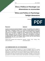 Ética y Política en Psicología - M. Montero