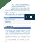El Plan Estratégico Institucional Es Un Documento de Gestión Que Resume El Accionar de La Organización en Los Próximos Cinco Años