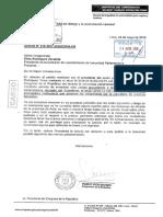 Wilbert Rozas solicita levantamiento de su inmunidad parlamentaria (24/05/18)