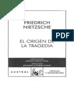 16 NIETZSCHE El Origen De La Tragedia.pdf
