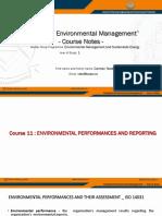 EMSE IEM Course Notes 11