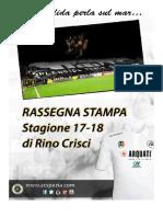 Rassegna stampa Spezia Calcio 17/18 - Girone di andata