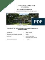 Informe 1 Agua Dura