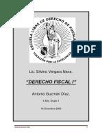 DERECHO FISCAL. Toño Guz. Final Apuntes.docx