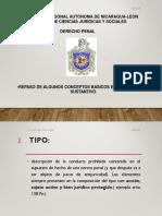 Derecho Penal Conceptos