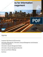 SAP ILM Detailed Presentation
