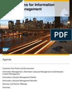 SAP ILM Detailed Presentation