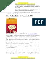 Livro Os Dez Hábitos da Memorização [ PDF ]