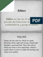 Gandhian Values