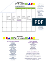 play and learn august 2018