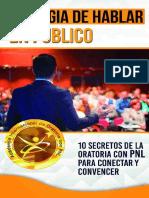 La Magia de Hablar en Público 10 Secretos de La Oratoria Con PNL Para Conectar y Convencer