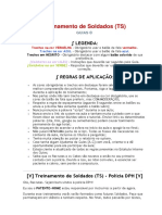 Script - Treinamento de Soldados (TS)