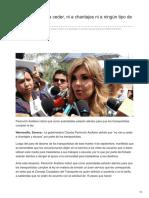04-09-2018- CPA No vamos a ceder ni a chantajes ni a ningún tipo de abuso - Tribuna