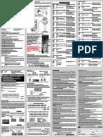 Manual Genno Alarme Inform Ultra 42 v5